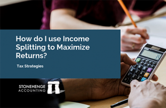 What is income splitting and how do I use it to maximize returns?