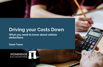 Driving your Costs Down