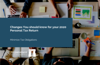 2020 Personal Tax Changes